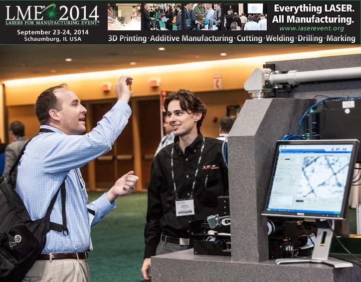 LME 2014: A Focused Laser Event Like No Other