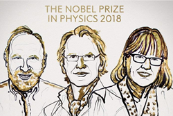 Laser Institute of America Celebrates 2018 Nobel Prize Laureates in Laser Physics Arthur Askin, Gérard Mourou and Donna Strickland