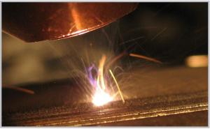 Figure 2. Multi-beam laser additive manufacturing process