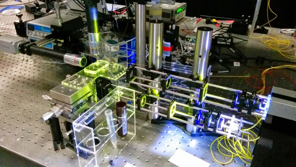 Cell-sorting prototype developed within the Photon Factory