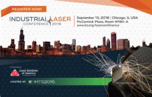 Industrial Laser Conference Sign Up Image