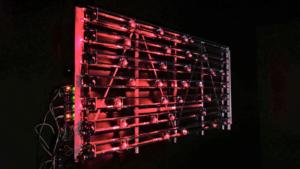 Laser Powered Drum Machine