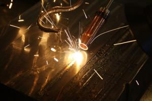 high powered laser welding