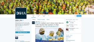OSHA Twitter