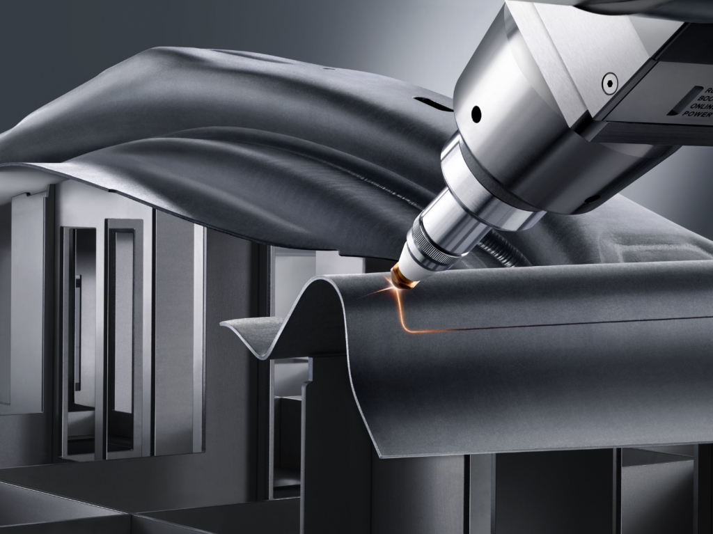 3D laser cutting makes it possible to cut parts without wear and without applying force – and at high productivity.